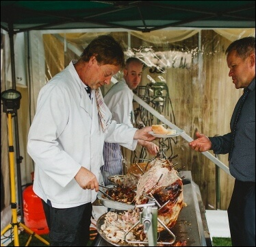 Hire a pig roast from the experts